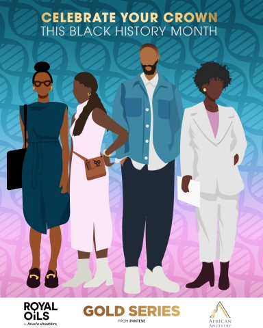 The P&G Haircare Brands' Black History Month Campaign reinforces #RootedInScience as a Foundational Link to Black Heritage and Black Haircare. (Photo: Business Wire)