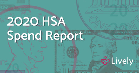2020 Lively HSA Spend Report (Graphic: Business Wire)