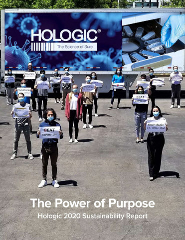 Hologic 2021 Sustainability Report (Graphic: Business Wire)