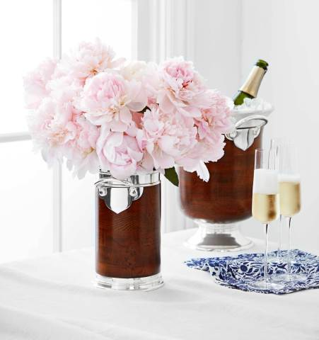 Champagne Bucket and Wine Chiller from the new Marlo Thomas Collection for Williams Sonoma and Pottery Barn (Photo: Williams Sonoma)