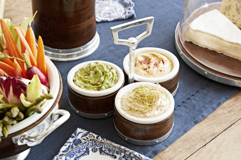 Three Condiment Dish from the new Marlo Thomas Collection for Williams Sonoma and Pottery Barn (Photo: Williams Sonoma)