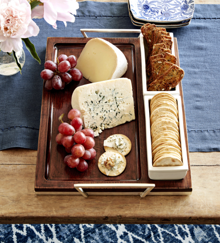 Rectangular Cheese Tray from the new Marlo Thomas Collection for Williams Sonoma and Pottery Barn (Photo: Williams Sonoma)