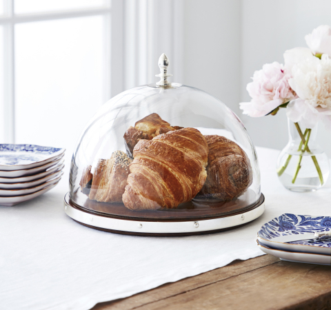 Glass Cheese Dome from the new Marlo Thomas Collection for Williams Sonoma and Pottery Barn (Photo: Williams Sonoma)
