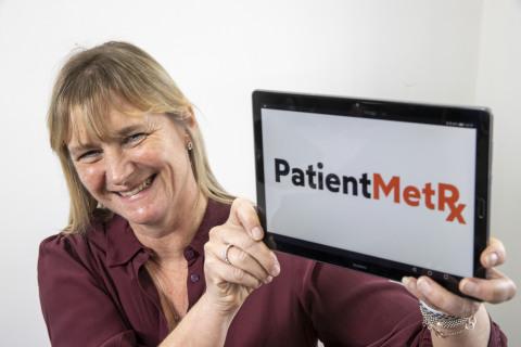 Jo Halliday CEO Talking Medicines (Photo: Business Wire)