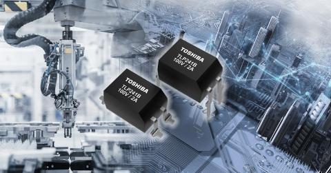 東芝:産業機器向けに制御範囲を広げた100V耐圧の大電流フォトリレー「TLP241B」 (画像:ビジネスワイヤ)