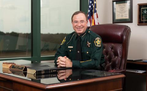 Polk County Sheriff Grady Judd (Photo: Business Wire)