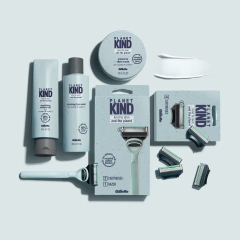 Planet KIND is a new shaving and skincare brand that is kind to skin and the planet. In partnership with Plastic Bank, every Planet KIND product purchased will help prevent 10 plastic bottles from entering the ocean. (Photo: Business Wire)