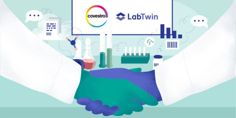 Covestro and LabTwin to collaborate on the Lab of the Future (Graphic: Business Wire)