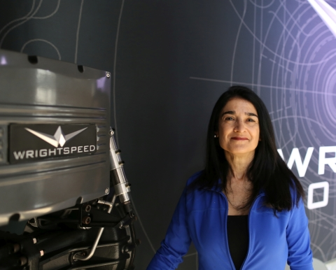 Wrightspeed CFO Suzy Taherian to Participate in Stifel Virtual Transportation and Logistics Conference as featured panelist on Fleet Electrification (Photo: Business Wire)
