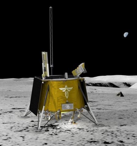 Firefly Aerospace Blue Ghost Lunar Lander (Photo: Business Wire)