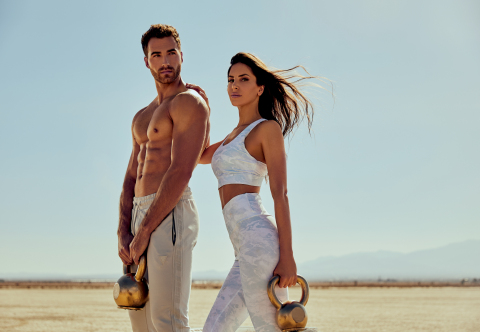 Social Media Icon and Fitness Advocate Jen Selter Stars as Face of GUESS Spring 2021 Activewear Advertising Campaign (Photo: Business Wire)