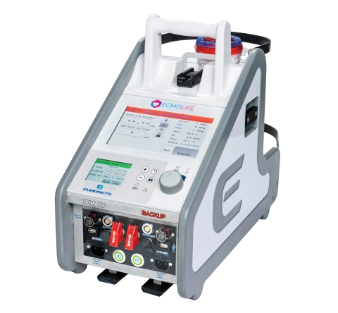 Eurosets ECMOlife - system for ExtraCorporeal Life Support (ECLS) (Photo: Eurosets)
