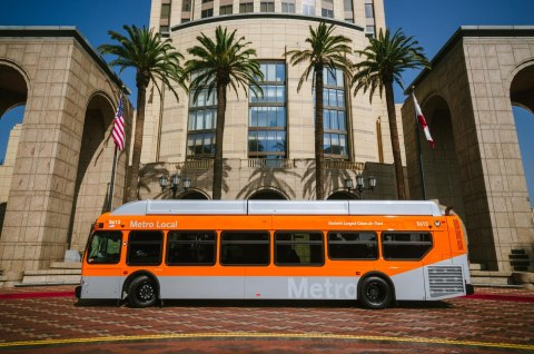 LA Metro has signed a new agreement for an estimated 47.5 million gallons of Clean Energy's renewable natural gas to fuel the nation's largest transit bus fleet. (Photo: Business Wire)