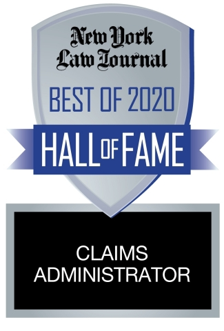 Having placed in the 'Best Claims Administrator' category of the New York Law Journal 'Best of' annual reader survey for three consecutive years, JND Legal Administration has been short-listed by the Journal as a legal services provider of the highest caliber. (Graphic: Business Wire)