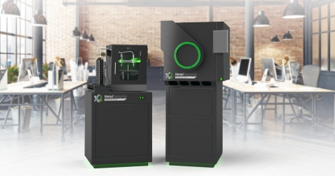 The ExOne Metal Designlab™ and X1F advanced furnace, offered through an exclusive partnership with Rapidia, is a complete metal 3D printing system using technology that will now be marketed and sold exclusively by ExOne. The original two-step method of 3D printing and sintering water-bound metal parts, first revealed by Rapidia in 2019, delivers proven Print Today, Parts Tomorrow™ performance. (Photo: Business Wire)