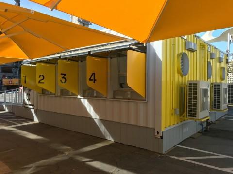 An SG Blocks D-Tec testing pod. (Photo: Business Wire)