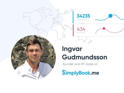 Ingvar Gudmundsson VP-Sales @ SimplyBook.me