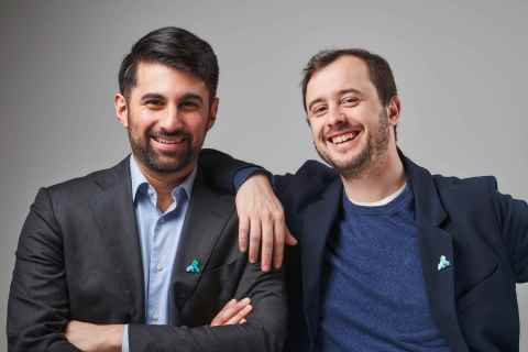 Kong Co-Founders Augusto Marietti and Marco Palladino (Photo: Business Wire)