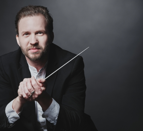 Renowned international conductor, David Danzmayr, joins the Oregon Symphony as music director. (Photo: Business Wire)