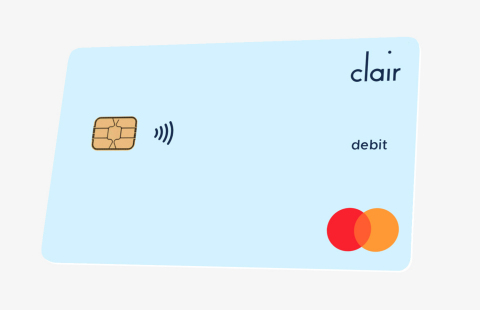 Hourly workers can use the Clair Debit Mastercard to access their free daily wage advances (Graphic: Business Wire)