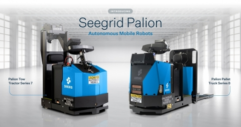 Seegrid introduces the Seegrid Palion AMR product line, including an all new Palion Pallet Truck. (Photo: Business Wire)