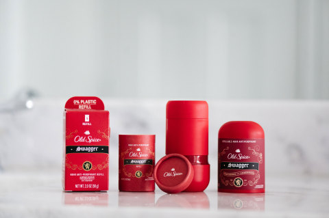 NEW Refillable Antiperspirants from Old Spice (Photo: Business Wire)