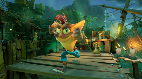 Run, don't walk, Crash Bandicoot™ 4: It's About Time is making its way to PlayStation® 5, Xbox Series X|S and Nintendo Switch™ on March 12, 2021. The game is also coming soon to PC via Battle.net. Players on next-gen platforms can enjoy N. credible 4K visuals, quicker loading times and 3D audio that will immerse them in all-new dimensions. Additionally, fans can play on the go when the time-shattering platforming adventure makes it way to Nintendo Switch™ for the first time. (Graphic: Business Wire)
