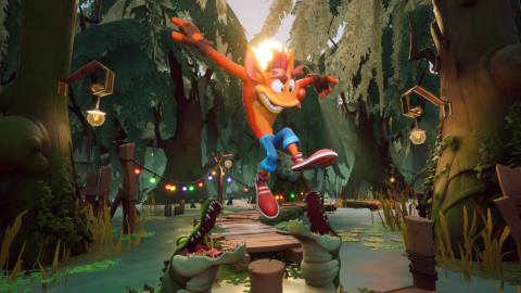 Developer Toys for Bob confirms Crash Bandicoot™ 4: It's About Time is headed to new platforms: PlayStation® 5, Xbox Series X|S and Nintendo Switch™ on March 12, 2021 and will be coming soon PC via Battle.net. Crash Bandicoot4: It's About Time is the first original entry in the Crash franchise in more than 10 years and biggest Crash game ever! (Graphic: Business Wire)
