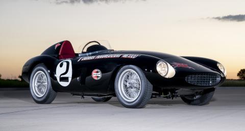 1954 Ferrari 750 Monza wins The Peninsula Classics 2020 Best of the Best Award (Photo Copyright: Jay Miller)
