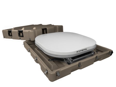 The u8 GOV terminal and u8 GO provide the complete connectivity solution for on-the-go communications. (Photo: Business Wire)