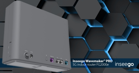 (C)2021. Inseego Corp. All rights reserved. Inseego Wavemaker PRO Indoor Router FG2000e