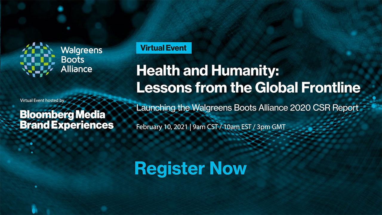 WBA invites you to attend today's virtual event: Health and Humanity: Lessons from the Global Frontline.