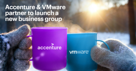 Accenture and VMWare partner to launch a new business group (Photo: Business Wire)