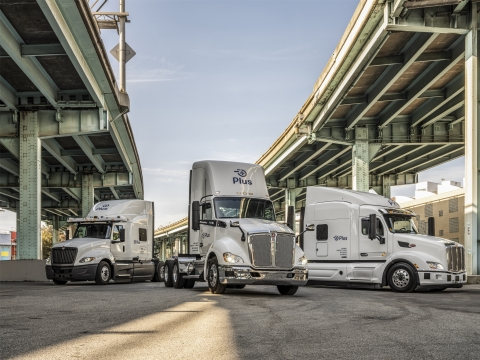 Plus Automated Trucks (Photo: Business Wire)