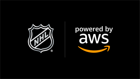 AWS will help the NHL bring fans closer to the ice with new viewing experiences and in-depth stats and analytics built on AWS services. (Graphic: Business Wire)