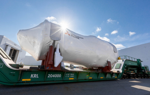A Mitsubishi Power alcançou a posição número 1 de participação de mercado para pedidos de turbinas a gás pesadas nas Américas em 2020. As turbinas a gás J-Series JAC, as maiores e mais avançadas da Mitsubishi Power, lideraram o mercado. Todas estão preparadas para hidrogênio para uma futura descarbonização profunda. Os pedidos incluem turbinas a gás de ciclo combinado com a menor intensidade de emissões de dióxido de carbono de todas as turbinas a gás pesadas encomendadas em 2020. (Crédito: Mitsubishi Power)