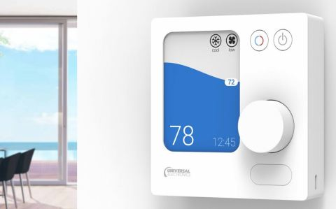 Universal Electronics Inc. (UEI), the global leader in universal control and sensing technologies for the smart home, is introducing the UEI Comfort family of connected thermostats designed to simplify installation, daily use and ongoing support of climate control in residential, commercial and hospitality applications. UEI has more than 20 years of experience providing end-to-end advanced control solutions to the world's leading HVAC brands. (Photo: Business Wire)