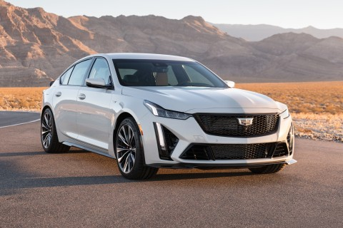 Barrett-Jackson to Auction 2022 Cadillac CT5-V Blackwing VIN 001 and CT4-V Blackwing VIN 001 for Charity During Scottsdale Auction (Photo: Business Wire)