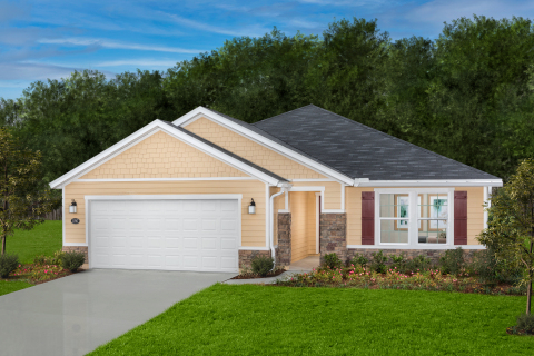 KB Home announces the grand opening of Barrington Cove, a new-home community in North Jacksonville, priced from the $200,000s. (Photo: Business Wire)