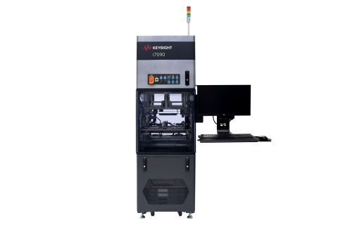 Keysight's new i7090 enables higher throughput in a smaller footprint to perform tests in parallel, on multiple printed circuit board assemblies, to achieve high volume throughput which speeds time-to-market and reduces cost-of-test. (Photo: Business Wire)