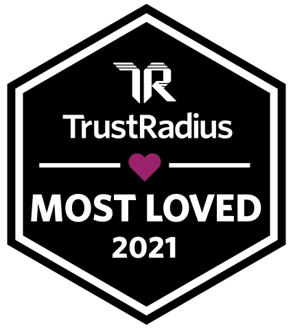 Kofax Wins a 2021 Most Loved Award from TrustRadius (Graphic: Business Wire)