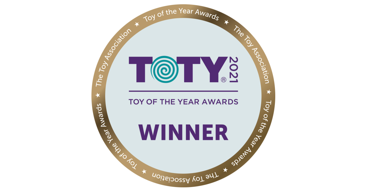 """Mattel Honored with Four 2021 """"Toy of the Year"""" Awards"""