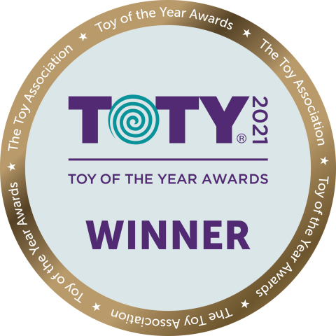 "Mattel Honored with Four 2021 ""Toy of the Year"" Awards (Graphic: Business Wire)"
