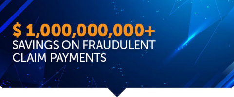 FRISS has helped the industry save over $1B in fraudulent policy applications and claims payments. (Graphic: Business Wire)