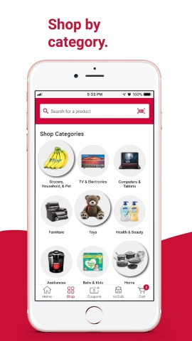 BJ's Wholesale Club is making it easier for members to seamlessly shop and save by launching new features on the BJ's app on Feb. 16, 2021. New app features include a refreshed homepage and seamless navigation to shop by category and discover deals and products. (Graphic: Business Wire)