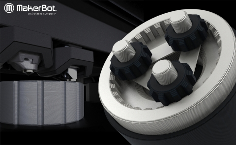 MakerBot METHOD now prints BASF Ultrafuse 316L Stainless Steel material by Forward AM (Photo: Business Wire)