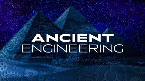 The CuriosityStream original series 'Ancient Engineering' premieres Spring 2021 (Photo: Business Wire)