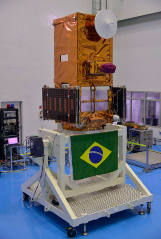 Amazônia-1, INPE's nearly 700kg Earth observation satellite which will observe and monitor Amazonian deforestation, is the primary spacecraft on the PSLV-C51 mission managed by Spaceflight Inc. at the end of February. (Photo: Business Wire)