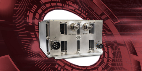 Marotta Controls expands innovative 1-STEP power converter portfolio with its new, fully qualified PS11200. This unique 3-phase AC to DC conversion solution meets military and commercial avionic standards while minimizing negative size, weight, power and cost compromises. Offering 11.2 kW of isolated power, the PS11200 is designed to replace legacy 400 amp solutions. (Graphic: Business Wire)