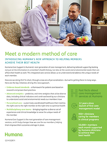 Humana Care Support Backgrounder